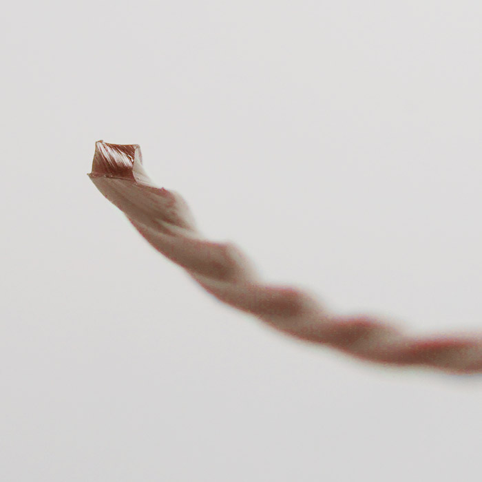 3.5mm角型ツイスト バイソン