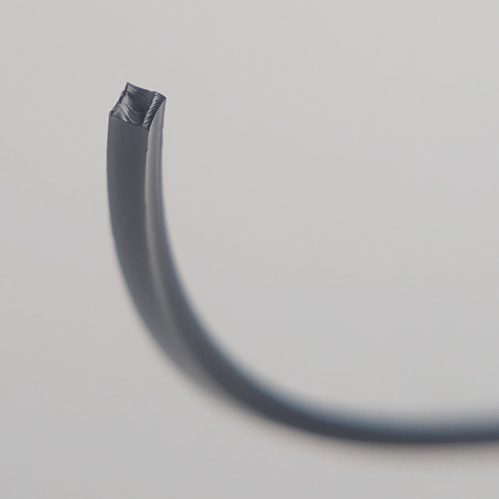 2.4mm角型 メタリック